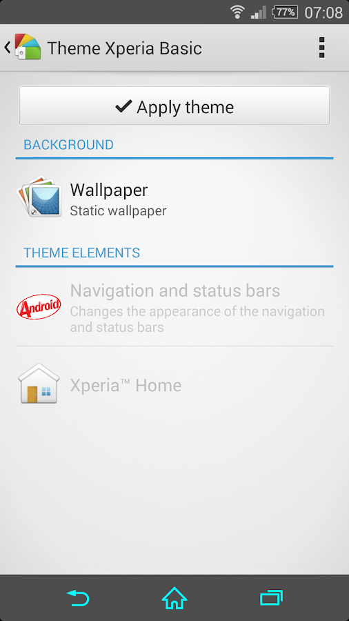 eXpeRianZ Basic Theme - screenshot