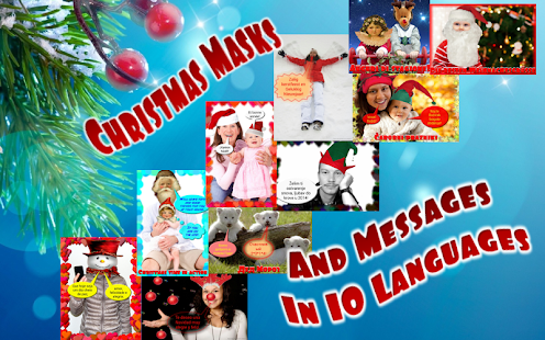 Photo talks Christmas New Year - screenshot thumbnail