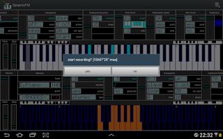 Screenshot of FM Synthesizer [SynprezFM II]