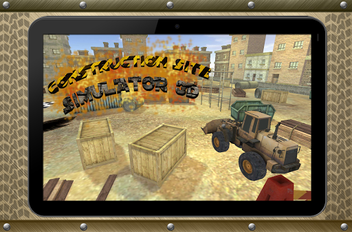 Construction site simulator 3D