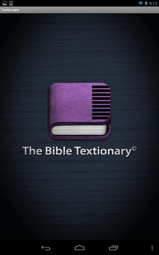 The Bible Textionary