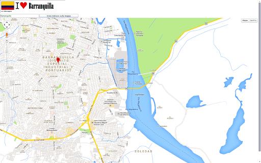 【免費交通運輸App】Barranquilla maps-APP點子