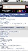 Screenshot of SCFL mobile