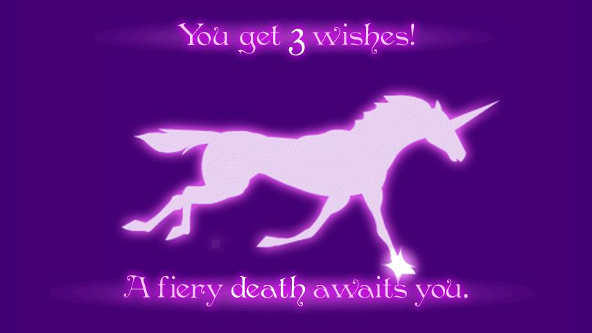 Robot Unicorn Attack: captura de pantalla