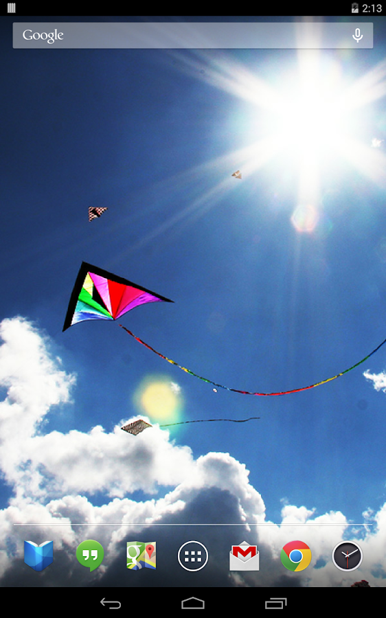 Soaring Kites Live Wallpaper- screenshot