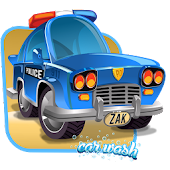 police car wash games for boys