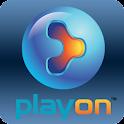 PlayOn logo