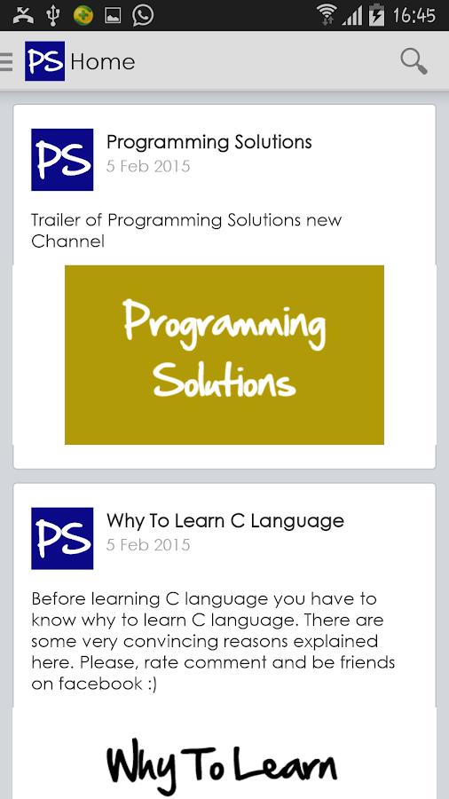 cs72p programming solutions