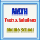 Middle School Math Tests & Sol icon