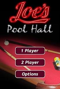 Joe's Pool Hall - screenshot thumbnail