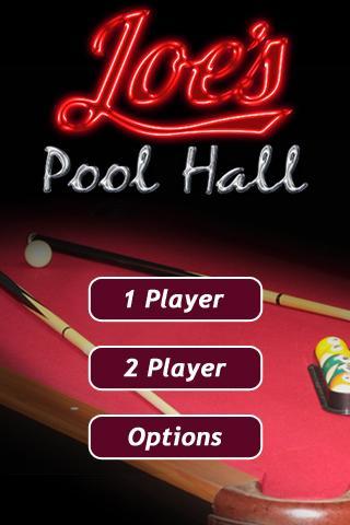 Joe's Pool Hall - screenshot