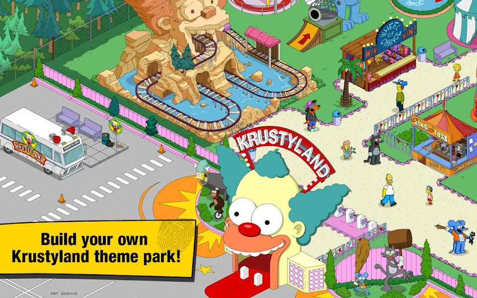 The Simpsons Tapped Out APK Mega Mod v4.12.0 - Cover