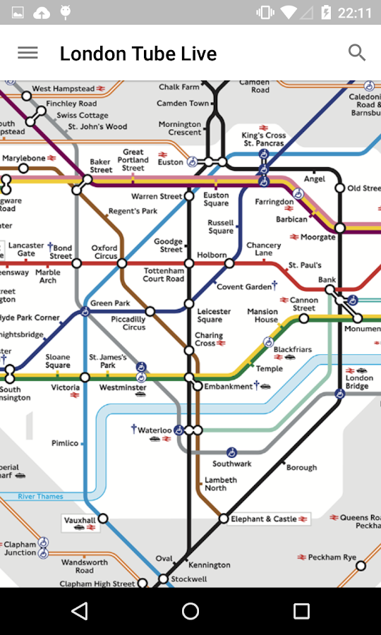 London Tube Live - Underground- screenshot