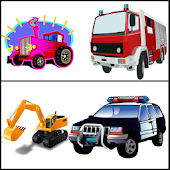 GAME OF CARS TRUCKS TRACTOR