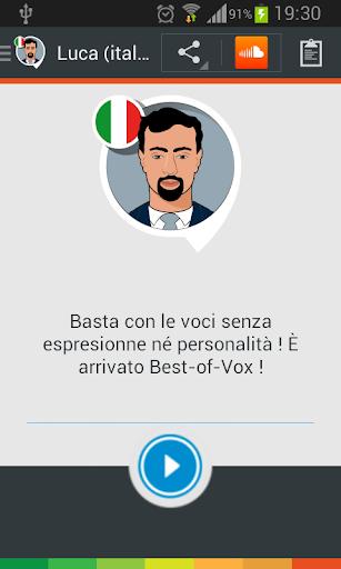 Voce Luca italiano