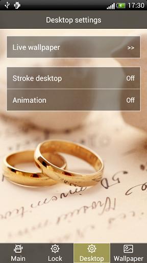 玩社交App|浪漫結婚對戒動態壁紙屏幕鎖免費|APP試玩