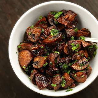 Easy Roasted Mushrooms.