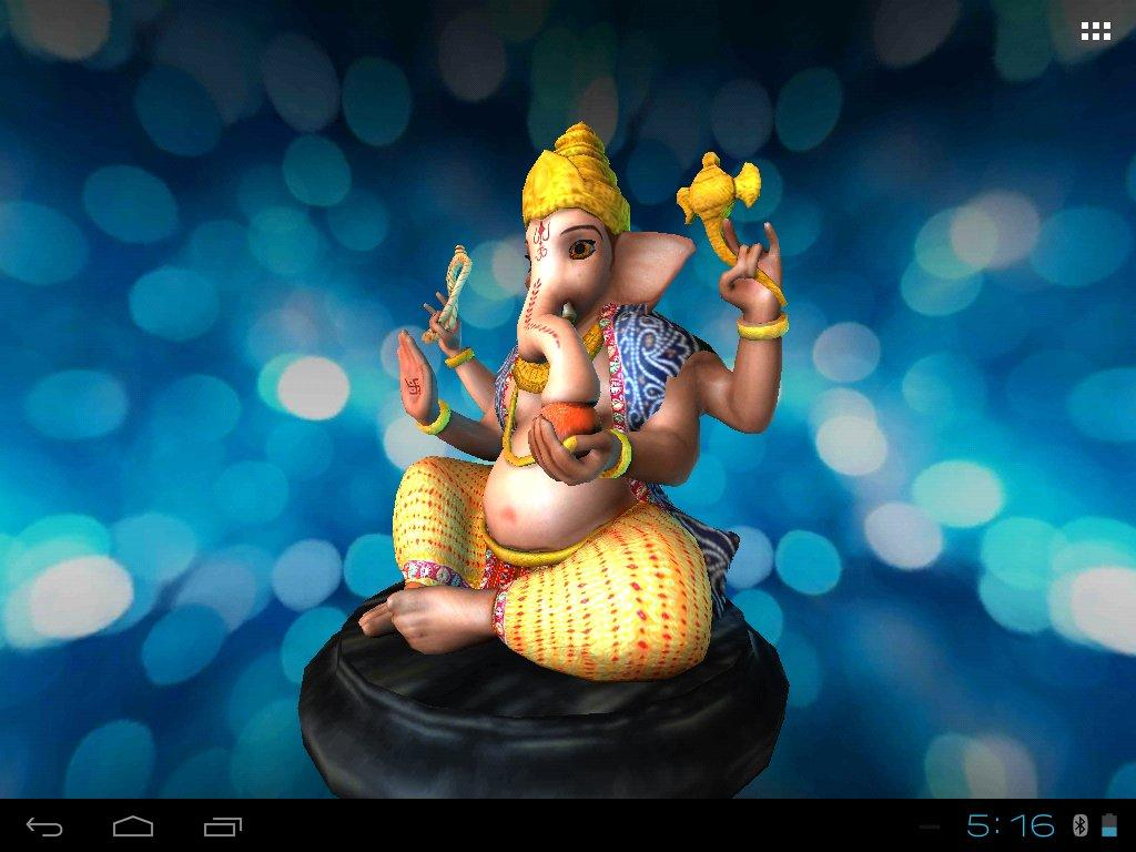 3D Ganesh Live Wallpaper - Android Apps on Google Play