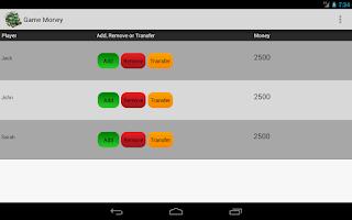 Screenshot of Game Money