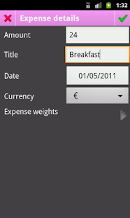 Piggy - Share Expenses - screenshot thumbnail
