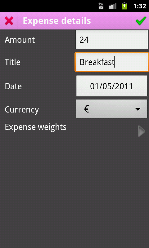 Piggy - Share Expenses- screenshot