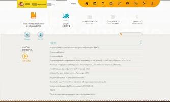 Screenshot of Emprendemos