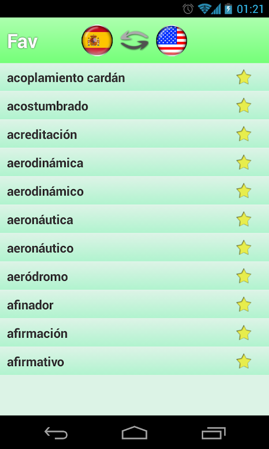 English Spanish Dictionary - Android Apps on Google Play