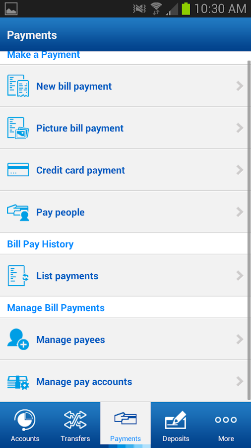 BBVA Compass Mobile Banking - screenshot