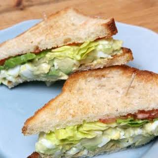 Martha's Favorite Egg Salad Sandwich.