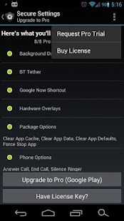 Secure Settings - screenshot thumbnail