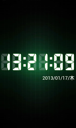 tDigitalClock 日本語版