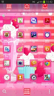 GO Launcher EX Muffin Shake - screenshot thumbnail