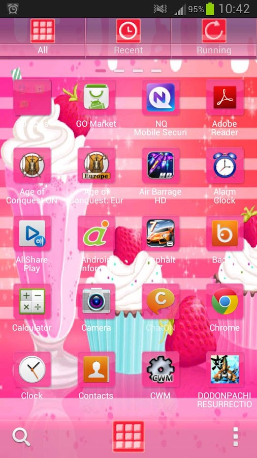 GO Launcher EX Muffin Shake- screenshot