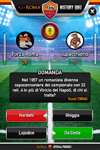 AS Roma History Quiz- miniatura screenshot