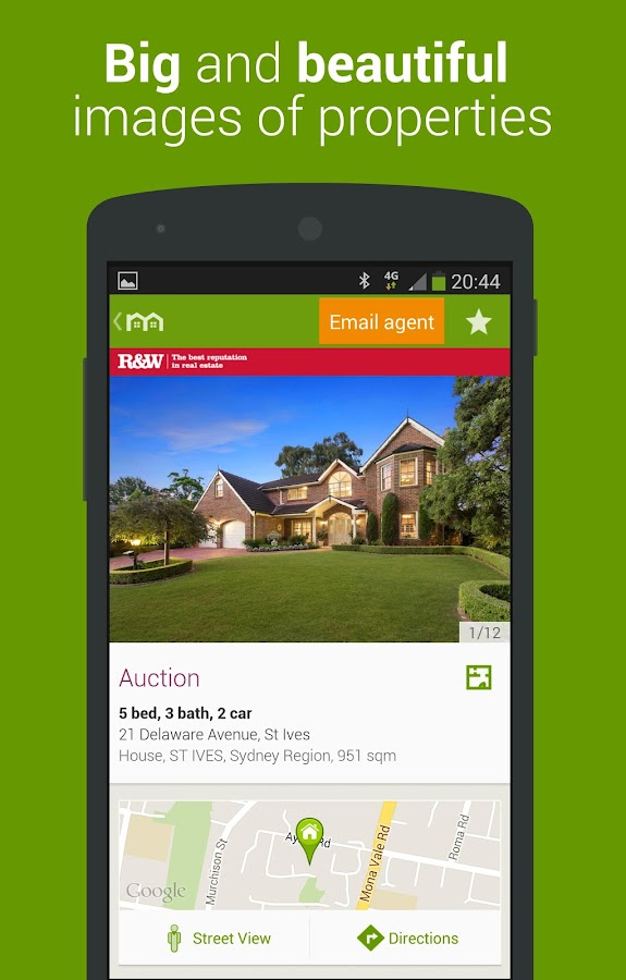 Domain Real Estate & Property - screenshot
