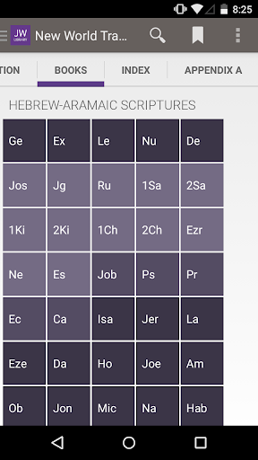 JW Bible Reader for Windows 8 and 8.1