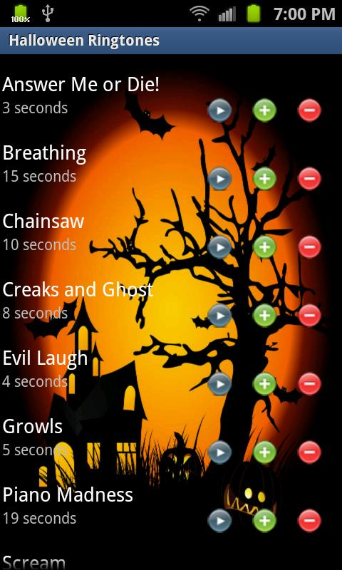 here is the track list for halloween theme marimba remix ringtone we may collect and you can listen to and download buy a cassete andor cddvds