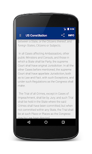 US Constitution- screenshot thumbnail
