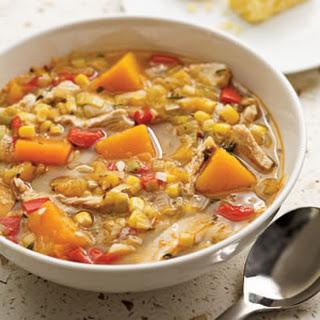 Turkey & Squash Soup
