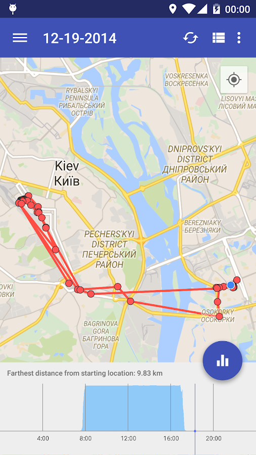 how to clear location history on android