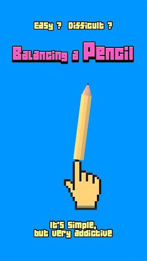 Balancing a pencil