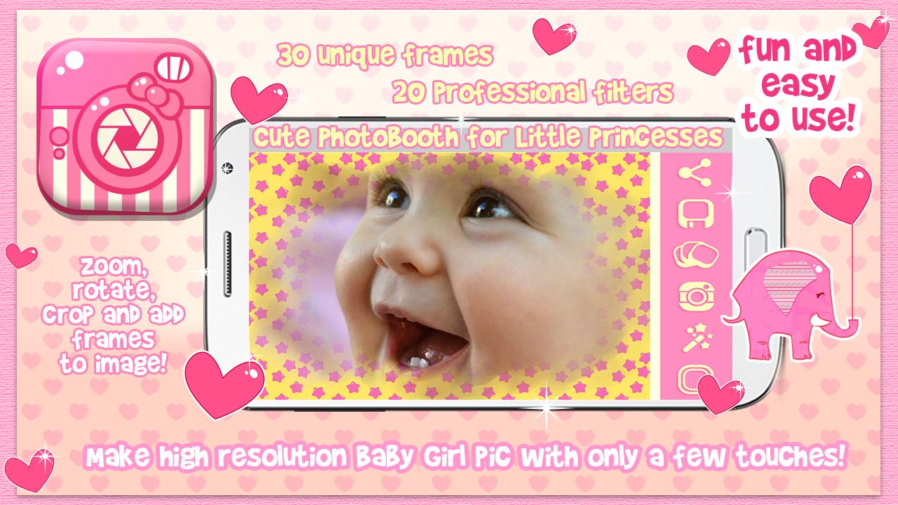 Lucu Gadis Muda Bingkai Foto Apl Android Di Google Play