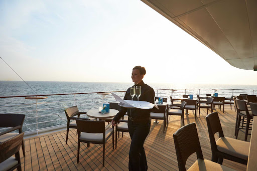 Europa-2-outdoor-terrace - Order a cool drink and enjoy the passing landscape when you head to Europa 2's outdoor terrace on deck 8.