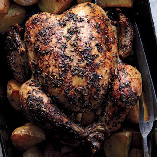 Herbed Faux-tisserie Chicken and Potatoes