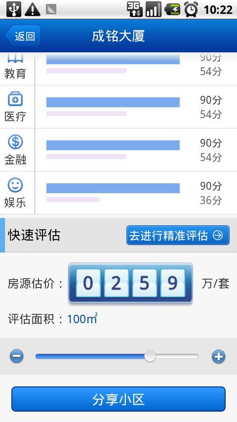 房产评估 - screenshot