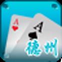 快乐之都德州扑克 logo