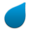 Dež – Slovenian rain radar logo
