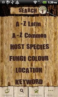 Tree Fungi ID- screenshot thumbnail