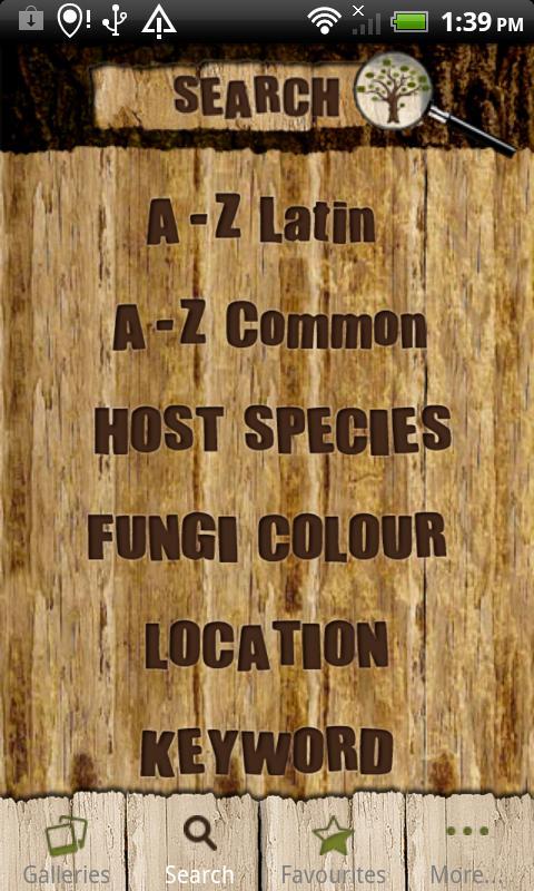 Tree Fungi ID- screenshot