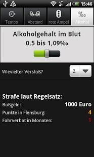 Bußgeldrechner- screenshot thumbnail